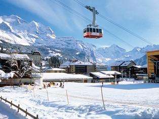 Vacance ski Wengen