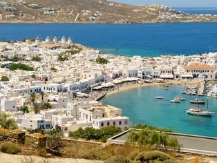 Vakantie Mykonos-stad