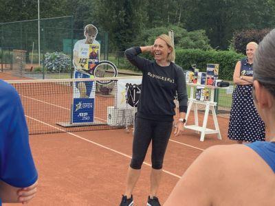 Tennisvakantie met Sabine Appelmans op Mallorca