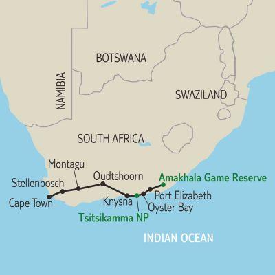 Circuit En Voiture De Location Afrique Du Sud