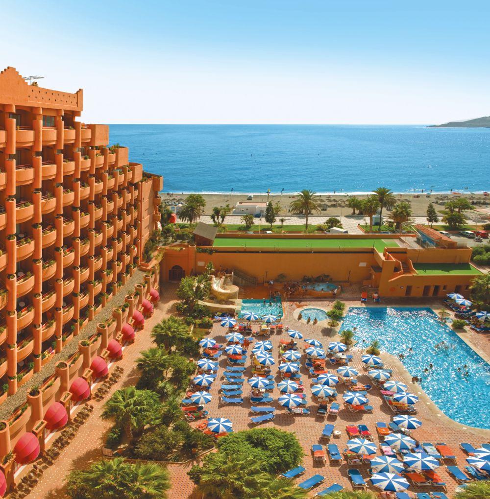 Carte Espagne Andalousie Almunecar.Hotel Almunecar Playa Spa Costa Del Sol Tui