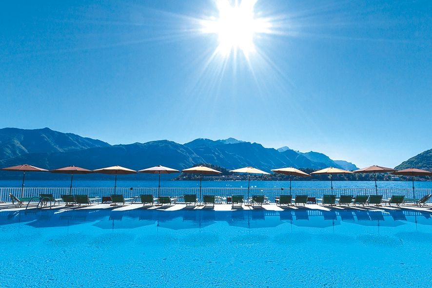 Grand hotel britannia excelsior lac de come tui - Lac de come hotel ...