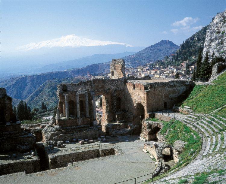 Italië Sicilië, archeologisch openluchtmuseum - foto 1