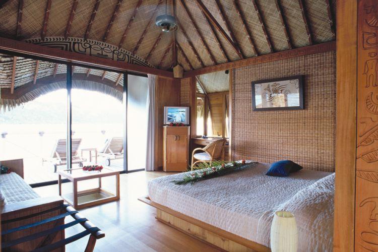 Hotels in bora bora pearl beach resort spa wereldreizen - Eilandjes bad ...
