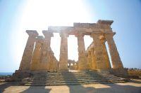 Italië sicilië, archeologisch openluchtmuseum - foto 6