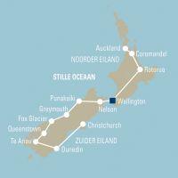 Nieuw-Zeeland permanent groene eilandenwereld - foto 2