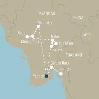 Myanmar in de schaduw van de gouden pagodes - foto 2