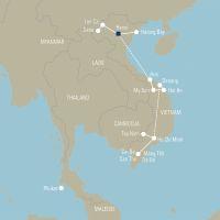 Vietnam kleurrijke bevolking in het land van water en bergen - foto 2