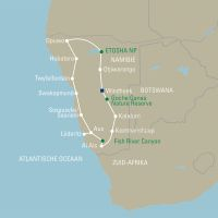 Namibië eindeloze horizonten en authentieke stammen  - foto 2