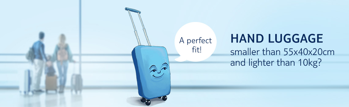 Hand luggage formats