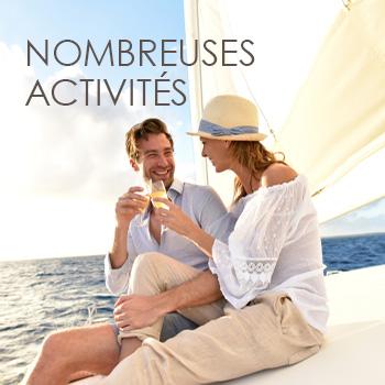Nombreuses activités