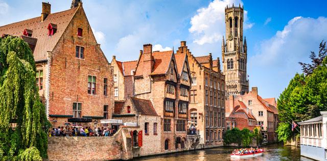 Découvrez les villes belges