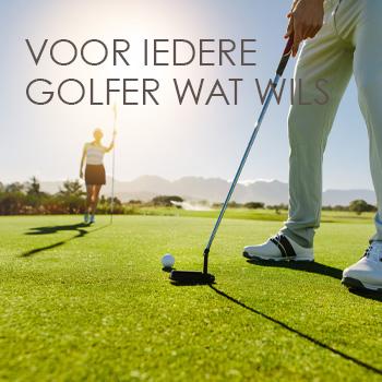 Voor iedere golfer wat wils