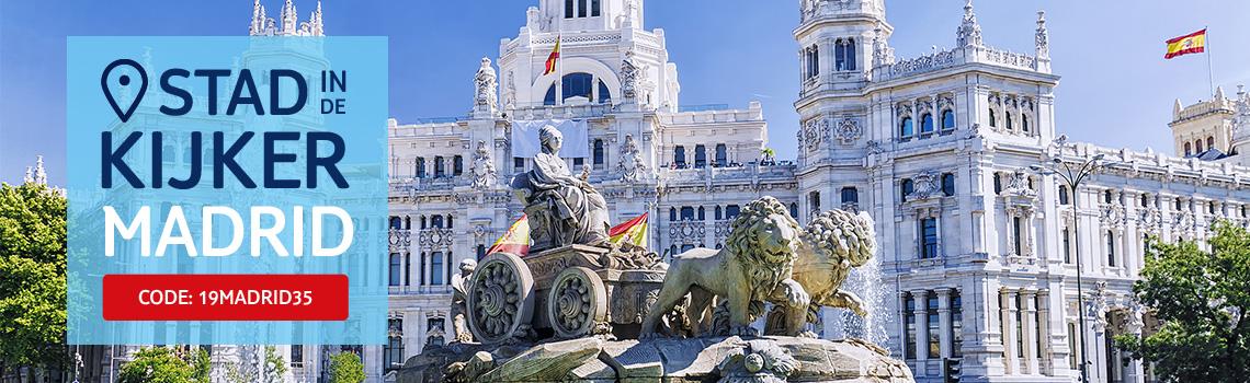 Stad in de kijker: Madrid, €35 korting