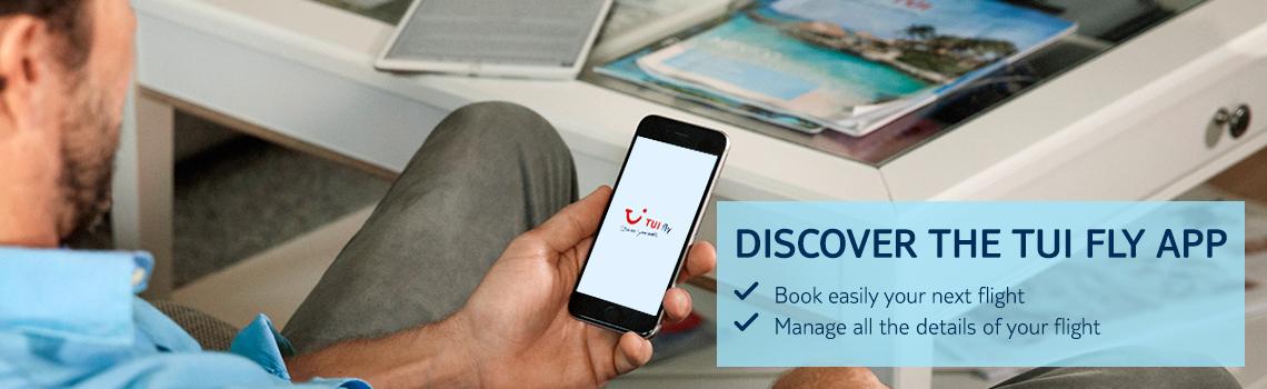 TUI Fly app